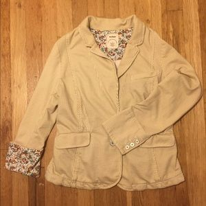 Anthropologie Allihop soft blazer jacket